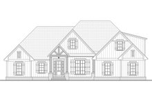 Architectural House Design - Farmhouse Exterior - Front Elevation Plan #430-195