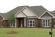 European Style House Plan - 3 Beds 2.5 Baths 2681 Sq/Ft Plan #63-165 Exterior - Front Elevation