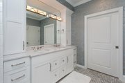 Ranch Style House Plan - 3 Beds 2 Baths 2784 Sq/Ft Plan #70-1467 Interior - Master Bathroom