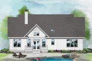 Farmhouse Style House Plan - 3 Beds 2 Baths 1570 Sq/Ft Plan #929-1106 Exterior - Rear Elevation