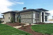 Ranch Style House Plan - 2 Beds 2 Baths 2200 Sq/Ft Plan #1069-5 Exterior - Other Elevation