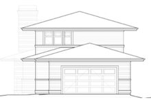 Prairie Exterior - Rear Elevation Plan #434-15