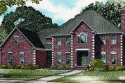 European Style House Plan - 4 Beds 5 Baths 4420 Sq/Ft Plan #17-2340