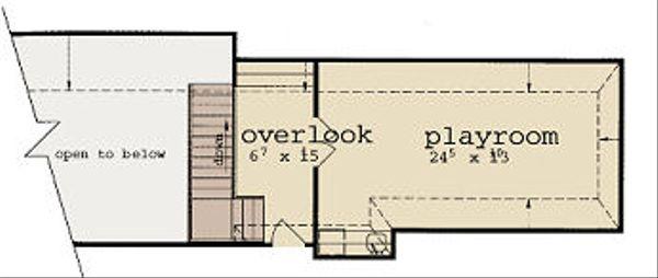 European Floor Plan - Other Floor Plan Plan #36-466