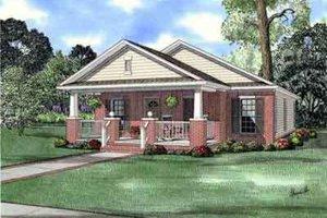 Craftsman Exterior - Front Elevation Plan #17-2253
