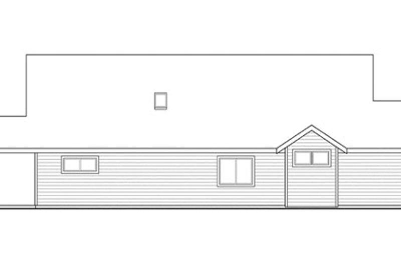 Craftsman Exterior - Other Elevation Plan #124-866 - Houseplans.com