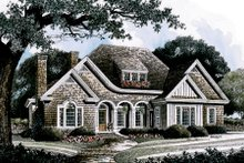 Home Plan - Traditional Exterior - Front Elevation Plan #429-23