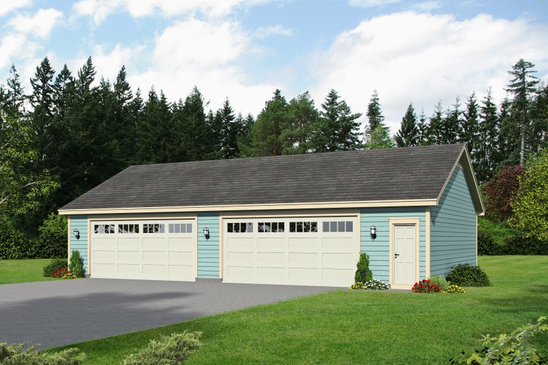 Home Plan - Country Exterior - Front Elevation Plan #932-173