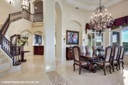 European Style House Plan - 4 Beds 5.5 Baths 6594 Sq/Ft Plan #930-516 Interior - Dining Room