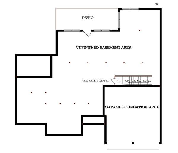 Architectural House Design - European Floor Plan - Other Floor Plan #45-113