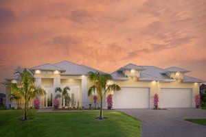 Dream House Plan - Beach Exterior - Front Elevation Plan #938-83