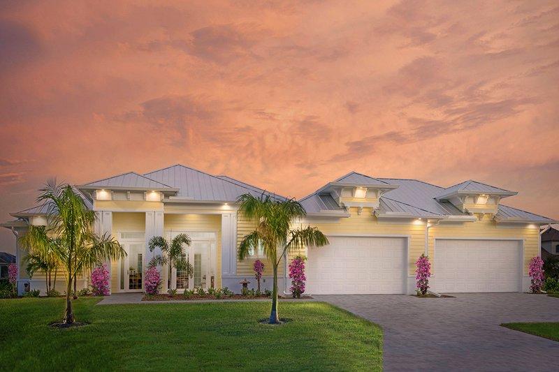 House Plan Design - Beach Exterior - Front Elevation Plan #938-83