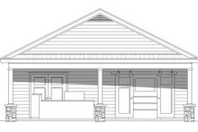 Country Exterior - Front Elevation Plan #932-110
