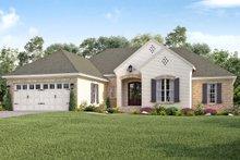 Architectural House Design - European Exterior - Front Elevation Plan #430-138
