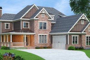 Craftsman Exterior - Front Elevation Plan #419-269