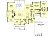 Ranch Style House Plan - 3 Beds 3.5 Baths 2974 Sq/Ft Plan #430-242 Floor Plan - Other Floor