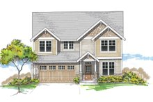House Plan Design - Craftsman Exterior - Front Elevation Plan #53-620