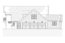 Dream House Plan - Country Exterior - Other Elevation Plan #901-1
