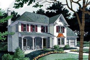 Farmhouse Exterior - Front Elevation Plan #56-153