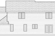 Traditional Exterior - Rear Elevation Plan #70-604