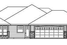Ranch Exterior - Other Elevation Plan #124-752