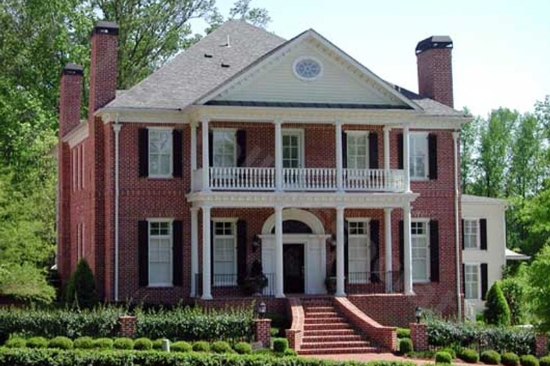 Southern Exterior - Front Elevation Plan #54-132 - Houseplans.com