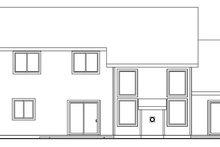 Craftsman Exterior - Rear Elevation Plan #124-534