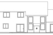 Home Plan - Craftsman Exterior - Rear Elevation Plan #124-534