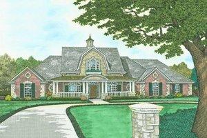 Farmhouse Exterior - Front Elevation Plan #310-239