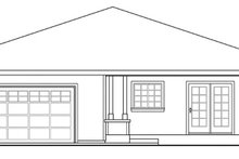 Home Plan - Cabin Exterior - Other Elevation Plan #124-854