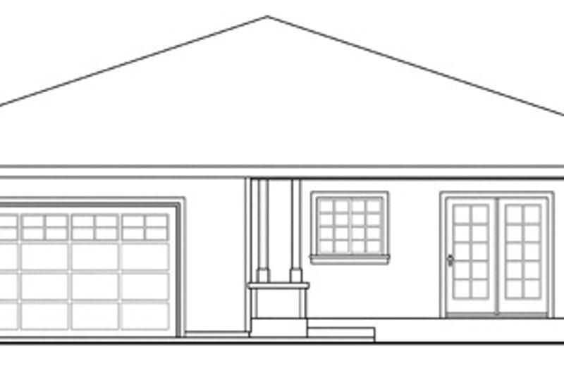 Cabin Exterior - Other Elevation Plan #124-854 - Houseplans.com