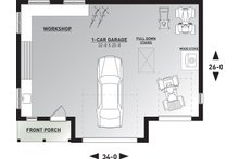 Farmhouse Floor Plan - Main Floor Plan Plan #23-2731
