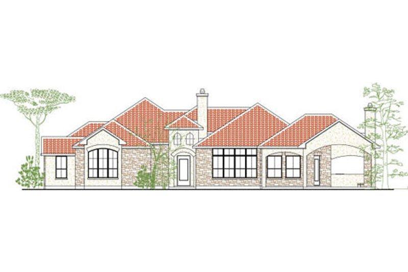 House Plan Design - European Exterior - Front Elevation Plan #80-185