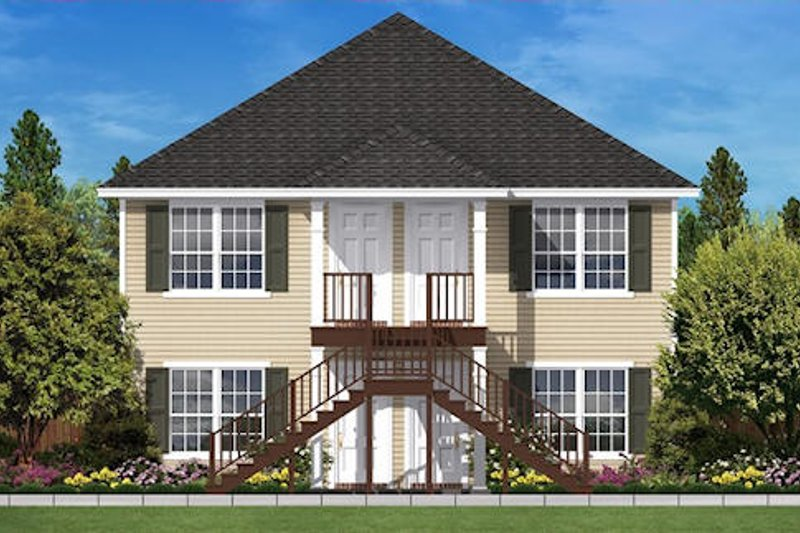 Traditional Exterior - Front Elevation Plan #430-30
