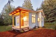 Craftsman Style House Plan - 1 Beds 1 Baths 432 Sq/Ft Plan #890-11