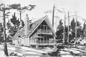 Bungalow Exterior - Front Elevation Plan #12-114