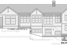 Dream House Plan - Farmhouse Exterior - Rear Elevation Plan #928-338