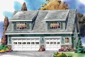 House Plan Design - Bungalow Exterior - Front Elevation Plan #18-4520