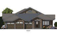 Architectural House Design - Ranch Exterior - Front Elevation Plan #1069-7