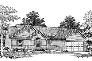 Traditional Exterior - Front Elevation Plan #70-145
