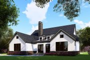 Craftsman Style House Plan - 3 Beds 2.5 Baths 1998 Sq/Ft Plan #923-159 Exterior - Rear Elevation
