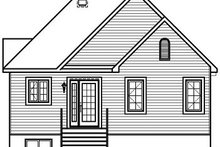 Dream House Plan - Traditional Exterior - Rear Elevation Plan #23-796