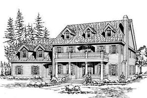 Traditional Exterior - Front Elevation Plan #132-171