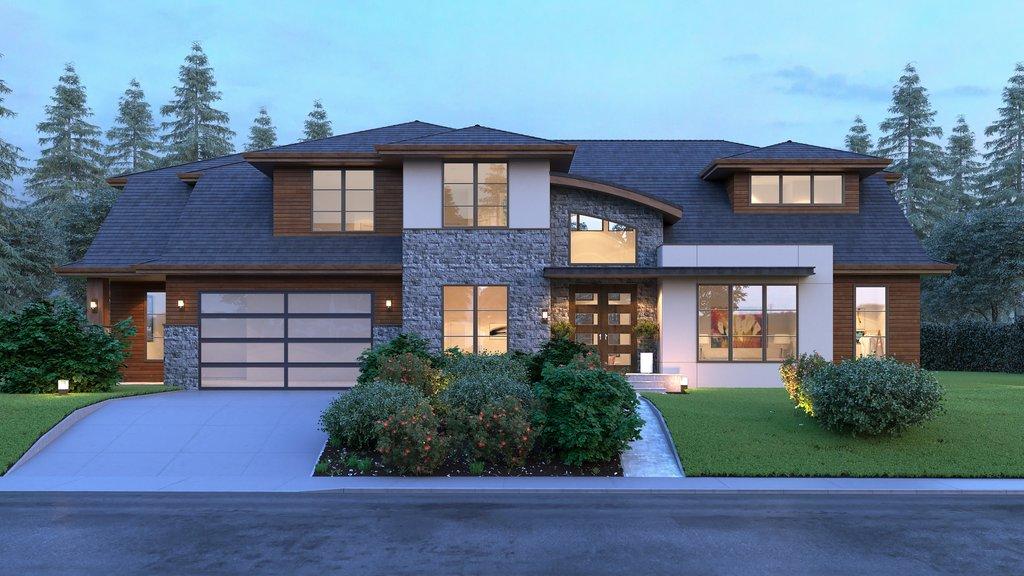 Modern Style House Plan - 4 Beds 3.5 Baths 3809 Sq/Ft Plan #1066-53 - Houseplans.comicon-hamburgerCloseClose