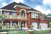House Plan Design - Mediterranean Exterior - Front Elevation Plan #930-289