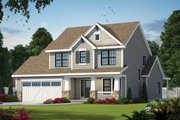 Craftsman Style House Plan - 3 Beds 2.5 Baths 1995 Sq/Ft Plan #20-2420 Exterior - Front Elevation