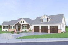 Architectural House Design - Farmhouse Exterior - Front Elevation Plan #1070-22
