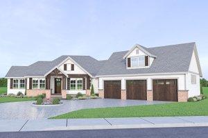 Farmhouse Exterior - Front Elevation Plan #1070-22