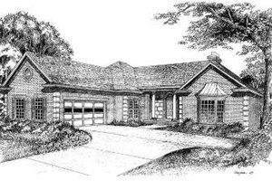 Traditional Exterior - Front Elevation Plan #322-113