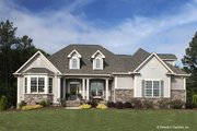 Country Style House Plan - 4 Beds 3 Baths 2304 Sq/Ft Plan #929-610 Exterior - Front Elevation